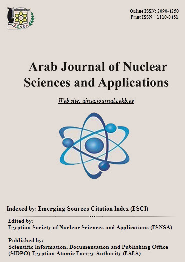 Arab Journal of Nuclear Sciences and Applications